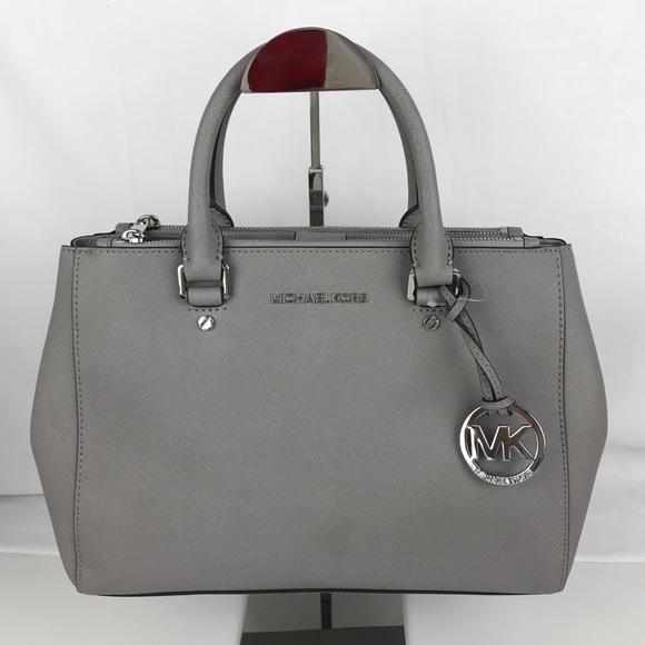 2f868d2f868c Michael Kors Bags | Sutton Leather Medium Satchel Handbag | Poshmark